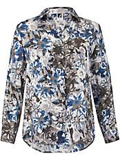 Anna Aura - Bluse aus 100% Seide mit Hemdkragen