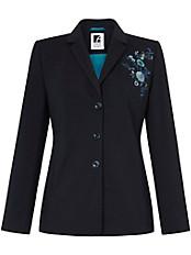 Anna Aura - Jersey-Blazer mit Blumen-Stickerei