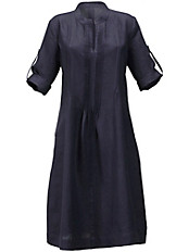 Anna Aura - Kleid aus 100% Leinen mit Stehkragen