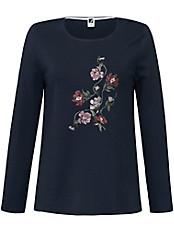 Anna Aura - Rundhals-Pullover mit Floral-Stickerei