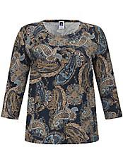 Rundhals-Shirt mit 3/4-Arm