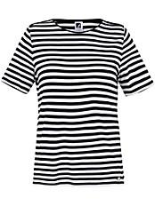 Anna Aura - Rundhals-Shirt mit Spitzen-Applikation
