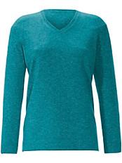 Anna Aura - V-Pullover aus 100% Kaschmir Modell VERA