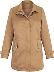 Anna Aura - Wasserabweisende Long-Jacke mit Stehkragen