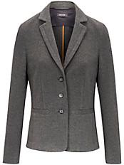 Basler - Jersey-Blazer mit modischem, feinem Metallband