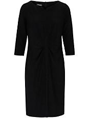 Basler - Jersey-Kleid mit mittigen Raffungen im Vorderteil
