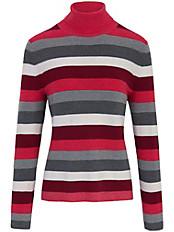 Basler - Rollkragen-Pullover aus 100% Schurwolle