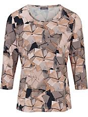 Basler - Shirt mit Rundhals-Ausschnitt und modischem Dessin