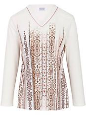 Charmor - Schlafanzug mit mit topaktuellen Bordüren bedruckt