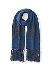DAY.LIKE - Schal aus weichem Strick mit Taschen und Fransen