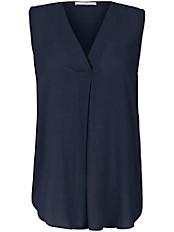 Emilia Lay - Ärmellose Bluse mit V-Ausschnitt