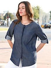 Emilia Lay - Bluse mit 3/4-Arm zum Krempeln