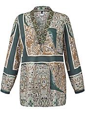 Emilia Lay - Bluse mit tiefen Ausschnitt