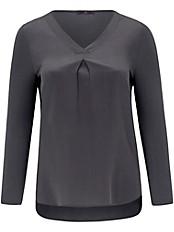 Emilia Lay - Blusen-Shirt aus 100% Seide im Vorderteil
