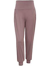 Emilia Lay - Hose mit Taschen und dekorativen Fältchen