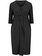 Emilia Lay - Jersey-Kleid mit V-Ausschnitt
