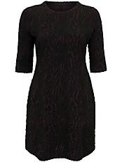 Emilia Lay - Jersey-Kleid mit Zebra-Struktur