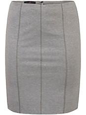 Emilia Lay - Jersey-Rock mit optisch streckenden Flatlock-Nähte