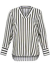 Emilia Lay - Schlupf-Bluse mit V-Ausschnitt