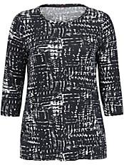 Emilia Lay - Shirt mit effektvollem Print und in gerader Form