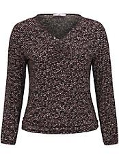 Emilia Lay - Shirt mit kleiner Raffung am Ausschnitt