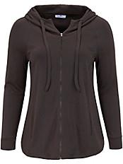 Emilia Lay - Sweat-Jacke mit Stoffkordel an der Kapuze