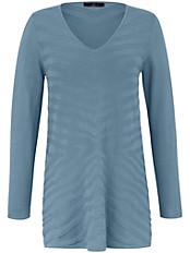 Emilia Lay - V-Pullover mit Struktur