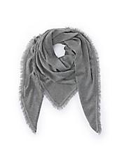 FLUFFY EARS - Dreiecks-Schal aus 100% Kaschmir