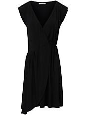 FLUFFY EARS - Jersey-Kleid mit tiefem V-Ausschnitt