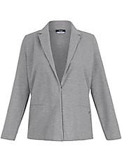 FRAPP - Jersey-Blazer mit modischer Querstruktur
