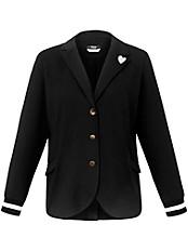 FRAPP - Jersey-Blazer mit Reverskragen