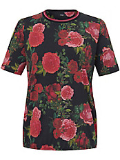 FRAPP - Rundhals-Shirt mit Floral-Druck