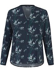FRAPP - Schlupf-Bluse mit V-Ausschnitt