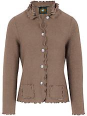 Hammerschmid - Walk-Strickjacke mit femininen Details und Taschen