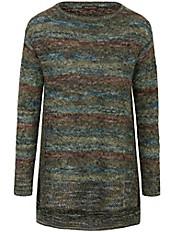Inkadoro - Long-Pullover aus 100% Alpaka