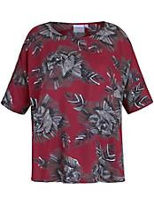 JUNAROSE - Blusen-Shirt mit Blüten-Print