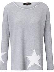 LIEBLINGSSTÜCK - Rundhals-Pullover aus 100% Schurwolle LAMBSWOOL