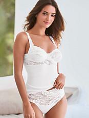 Nina v. C. - BH-Hemd mit Bügel und verstellbaren Trägern