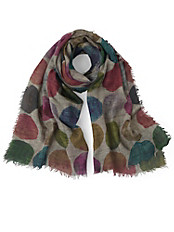 Passigatti - Schal mit hochaktuellen XXL-Dots