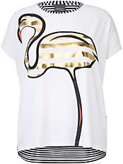 Persona by Marina Rinaldi - Shirt mit Flamingo-Motiv