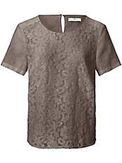 Peter Hahn - Bluse aus 100% Leinen mit 1/2-Arm