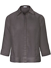 Peter Hahn - Bluse aus 100% Leinen mit 3/4-Arm