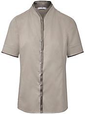 Peter Hahn - Bluse mit 1/2-Arm und Kelch-Kragen