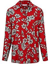 Peter Hahn - Bluse mit Blüten-Dessin