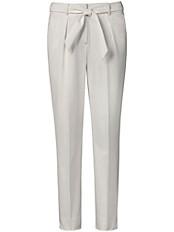Peter Hahn - Knöchellange Hose mit Bindegürtel