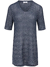Peter Hahn - Long-Pullover mit Struktur