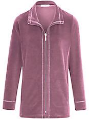 Peter Hahn - Nicki-Anzug mit silberfarbenen Flatlock-Nähten