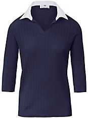 Peter Hahn - Polo-Pullover aus 100% SUPIMA®-Baumwolle