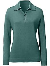 Peter Hahn - Polo-Pullover aus Seide mit Kaschmir Modell PIA