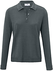Peter Hahn - Polo-Pullover mit 1/1 Arm